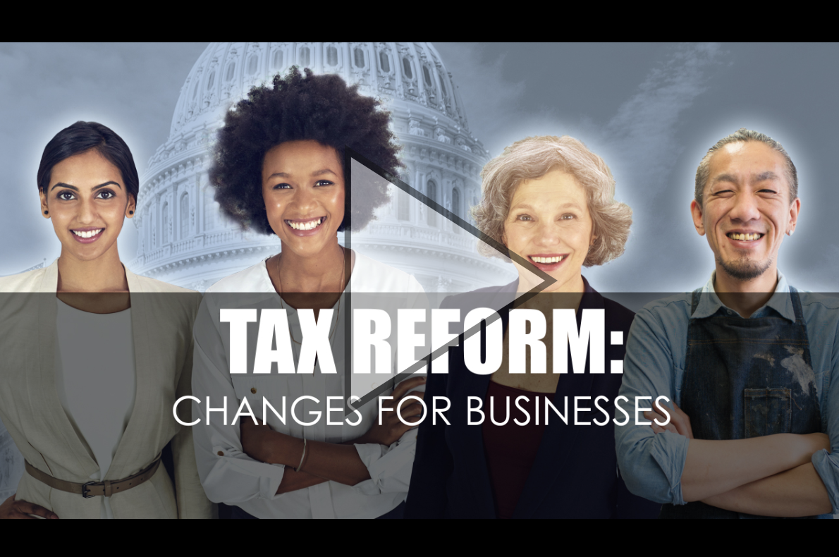 Tax Reform: Changes for Businesses