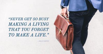 Six Ways Improve Your Work-Life Balance
